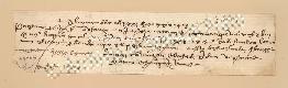 Archivio di Stato di Prato, Fondo Datini, Carteggio specializzato, Lettere di cambio, Fondaco di Barcellona, Proveniente Da Venezia (busta 1145.03, inserto 237, codice 318619)