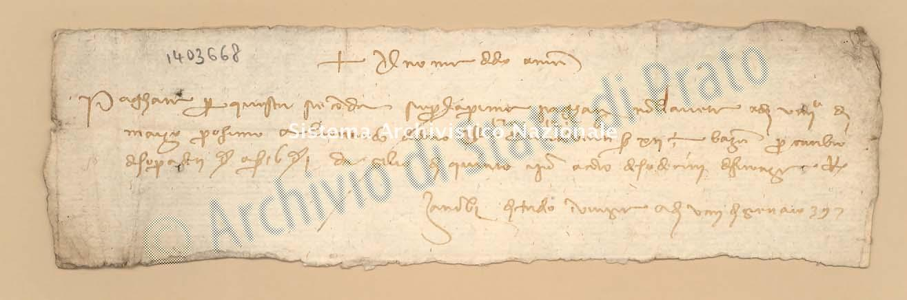 Archivio di Stato di Prato, Fondo Datini, Carteggio specializzato, Lettere di cambio, Fondaco di Barcellona, Proveniente Da Venezia (busta 1145.03, inserto 245, codice 1403668)