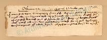 Archivio di Stato di Prato, Fondo Datini, Carteggio specializzato, Lettere di cambio, Fondaco di Firenze, Proveniente Da Avignone (busta 1142, inserto 15, codice 317971)