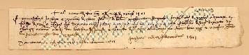 Archivio di Stato di Prato, Fondo Datini, Carteggio specializzato, Lettere di cambio, Fondaco di Firenze, Proveniente Da Bologna (busta 1142, inserto 55, codice 1404409)