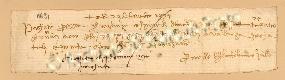 Archivio di Stato di Prato, Fondo Datini, Carteggio specializzato, Lettere di cambio, Fondaco di Firenze, Proveniente Da Bologna (busta 1142, inserto 57, codice 11691)
