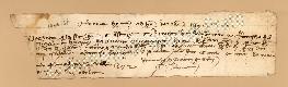 Archivio di Stato di Prato, Fondo Datini, Carteggio specializzato, Lettere di cambio, Fondaco di Firenze, Proveniente Da Roma (busta 1142, inserto 188, codice 1404168)