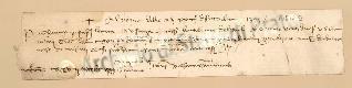 Archivio di Stato di Prato, Fondo Datini, Carteggio specializzato, Lettere di cambio, Fondaco di Genova, Proveniente Da Gaeta (busta 1144, inserto 184, codice 135129)