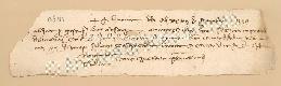Archivio di Stato di Prato, Fondo Datini, Carteggio specializzato, Lettere di cambio, Fondaco di Genova, Proveniente Da Gaeta (busta 1144, inserto 184, codice 135131)