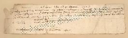 Archivio di Stato di Prato, Fondo Datini, Carteggio specializzato, Lettere di cambio, Fondaco di Genova, Proveniente Da Gaeta (busta 1144, inserto 183, codice 135118)