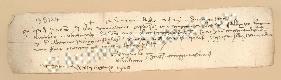 Archivio di Stato di Prato, Fondo Datini, Carteggio specializzato, Lettere di cambio, Fondaco di Genova, Proveniente Da Gaeta (busta 1144, inserto 183, codice 135124)