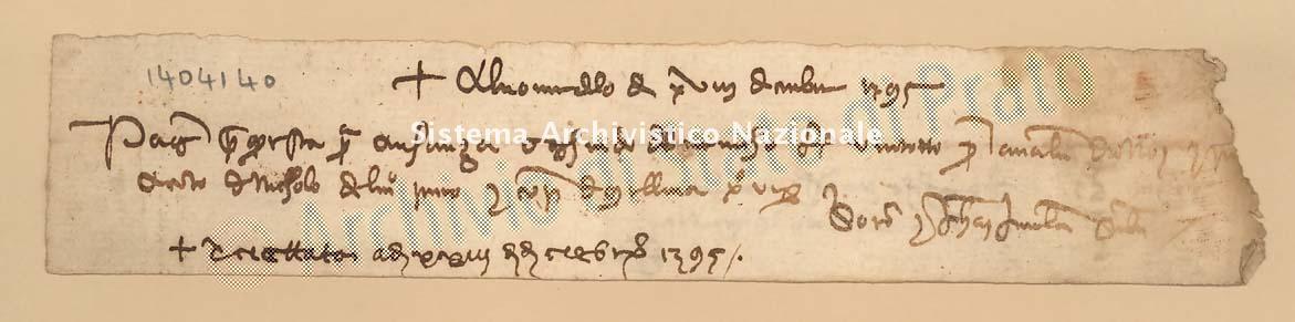 Archivio di Stato di Prato, Fondo Datini, Carteggio specializzato, Lettere di cambio, Fondaco di Genova, Proveniente Da Milano (busta 1144, inserto 197, codice 1404140)