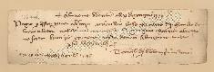 Archivio di Stato di Prato, Fondo Datini, Carteggio specializzato, Lettere di cambio, Fondaco di Genova, Proveniente Da Milano (busta 1144, inserto 200, codice 136446)
