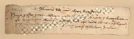 Archivio di Stato di Prato, Fondo Datini, Carteggio specializzato, Lettere di cambio, Fondaco di Genova, Proveniente Da Milano (busta 1144, inserto 200, codice 136447)