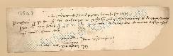 Archivio di Stato di Prato, Fondo Datini, Carteggio specializzato, Lettere di cambio, Fondaco di Genova, Proveniente Da Roma (busta 1144, inserto 277, codice 135148)