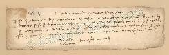 Archivio di Stato di Prato, Fondo Datini, Carteggio specializzato, Lettere di cambio, Fondaco di Genova, Proveniente Da Roma (busta 1144, inserto 277, codice 135150)