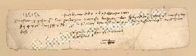 Archivio di Stato di Prato, Fondo Datini, Carteggio specializzato, Lettere di cambio, Fondaco di Genova, Proveniente Da Roma (busta 1144, inserto 277, codice 135154)