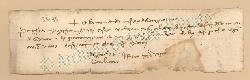 Archivio di Stato di Prato, Fondo Datini, Carteggio specializzato, Lettere di cambio, Fondaco di Genova, Proveniente Da Roma (busta 1144, inserto 278, codice 135135)