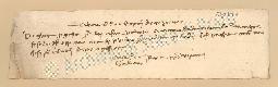 Archivio di Stato di Prato, Fondo Datini, Carteggio specializzato, Lettere di cambio, Fondaco di Genova, Proveniente Da Roma (busta 1144, inserto 278, codice 6301241)