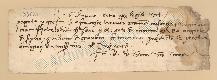 Archivio di Stato di Prato, Fondo Datini, Carteggio specializzato, Lettere di cambio, Fondaco di Genova, Proveniente Da Roma (busta 1144, inserto 281, codice 135821)