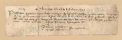 Archivio di Stato di Prato, Fondo Datini, Carteggio specializzato, Lettere di cambio, Fondaco di Genova, Proveniente Da Roma (busta 1144, inserto 286, codice 11864)