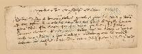 Archivio di Stato di Prato, Fondo Datini, Carteggio specializzato, Lettere di cambio, Fondaco di Genova, Proveniente Da Tadona (busta 1144, inserto 295, codice 137435)