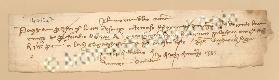 Archivio di Stato di Prato, Fondo Datini, Carteggio specializzato, Lettere di cambio, Fondaco di Genova, Proveniente Da Venezia (busta 1144, inserto 314, codice 1403647)