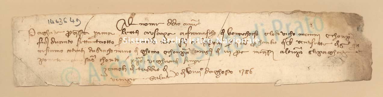 Archivio di Stato di Prato, Fondo Datini, Carteggio specializzato, Lettere di cambio, Fondaco di Genova, Proveniente Da Venezia (busta 1144, inserto 314, codice 1403649)