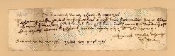 Archivio di Stato di Prato, Fondo Datini, Carteggio specializzato, Lettere di cambio, Fondaco di Pisa, Proveniente Da Roma (busta 1143, inserto 175, codice 136411)