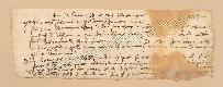 Archivio di Stato di Prato, Fondo Datini, Carteggio specializzato, Ricevute e mandati di mercanzia, Fondaco non indicato, Proveniente Da Pietrasanta (busta 1152.05, inserto 21, codice 130831)