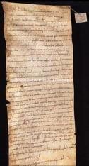 Archivio di Stato di Firenze, Diplomatico, 1088 Marzo 20, S. Vigilio di Siena