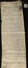 Archivio di Stato di Firenze, Diplomatico, 1105 Marzo 15, S. Apollonia di Firenze