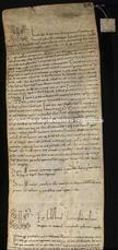 Archivio di Stato di Firenze, Diplomatico, 1122 Dicembre 14, S. Apollonia di Firenze