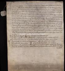 Archivio di Stato di Firenze, Diplomatico, 1142 Novembre 12, Rif. A. P.