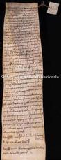 Archivio di Stato di Firenze, Diplomatico, 1083 Agosto .., S. Vigilio di Siena