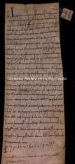 Archivio di Stato di Firenze, Diplomatico, 1046 Novembre 22, Cestello