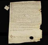 Archivio di Stato di Firenze, Diplomatico, 1213 Maggio 11, Volterra