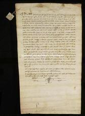 Archivio di Stato di Firenze, Diplomatico, 1229 Giugno 13, Montepulciano