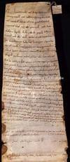 Archivio di Stato di Firenze, Diplomatico, 1072 Ottobre .., Capitolo di Pistoia