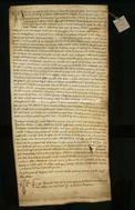 Archivio di Stato di Firenze, Diplomatico, 1238 Gennaio 13, Olivetani di Arezzo