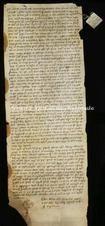 Archivio di Stato di Firenze, Diplomatico, 1245 Agosto 14, Olivetani di Arezzo