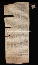 Archivio di Stato di Firenze, Diplomatico, 1261 Febbraio 2, Olivetani d'Arezzo