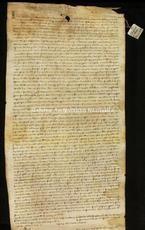 Archivio di Stato di Firenze, Diplomatico, 1286 Gennaio 27, Olivetani di Arezzo