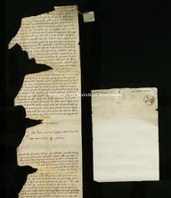 Archivio di Stato di Firenze, Diplomatico, 1255 Novembre 22, Olivetani di Arezzo