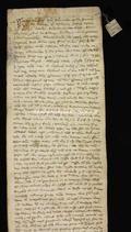 Archivio di Stato di Firenze, Diplomatico, 1265 Ottobre 16, Olivetani di Arezzo
