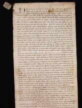 Archivio di Stato di Firenze, Diplomatico, 1264 Maggio 14, Regio Acquisto Caprini