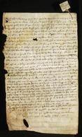 Archivio di Stato di Firenze, Diplomatico, 1294 Giugno 3, Capitolo di Pistoia