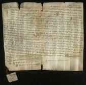 Archivio di Stato di Firenze, Diplomatico, 1341 Novembre 16, S. Maria degli Angeli di Firenze