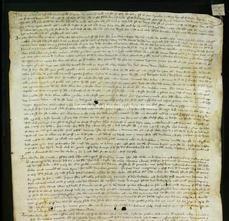 Archivio di Stato di Firenze, Diplomatico, 1322 Novembre 4, Monte Comune