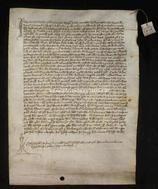 Archivio di Stato di Firenze, Diplomatico, 1360 Settembre 27, Certosa