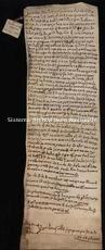 Archivio di Stato di Firenze, Diplomatico, 1166 Maggio 25, Badia di Passignano
