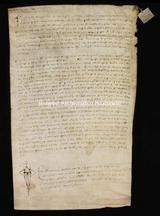 Archivio di Stato di Firenze, Diplomatico, 1264 Settembre 24, Olivetani d'Arezzo