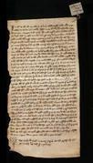 Archivio di Stato di Firenze, Diplomatico, 1264 Novembre 22, Olivetani d'Arezzo
