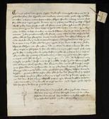 Archivio di Stato di Firenze, Diplomatico, 1286 Aprile 22, Volterra