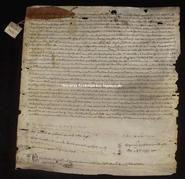 Archivio di Stato di Firenze, Diplomatico, 1366 Ottobre .., Pistoia